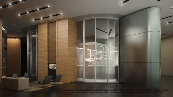 Porsche Design Tower Lobby 4