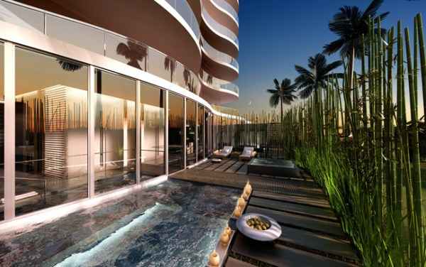 Regalia Sunny Isles Beach Outdoor SPA