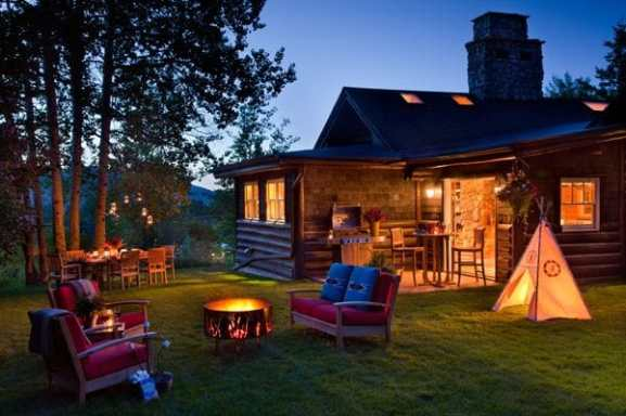 cabin wy