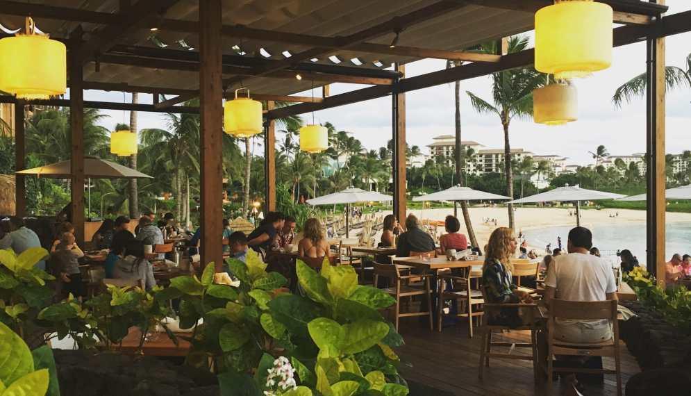 Inviato a luxury travel blog for Fish house ko olina