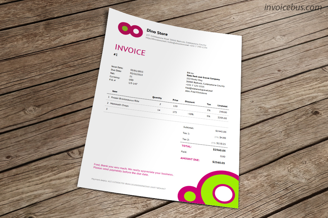 25 Payment Receipt Templates Free Sample Example Format Download  25     Best Invoice Templates   Download free invoice template cricket store online