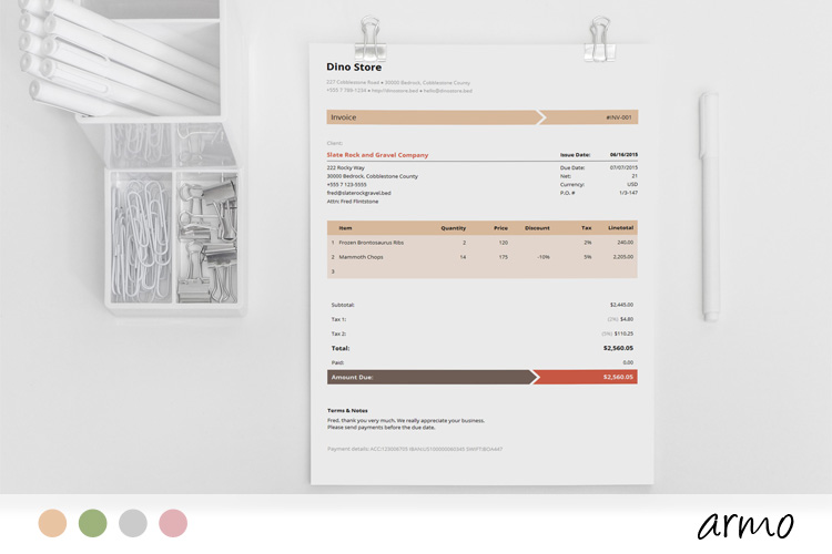 images for invoice template