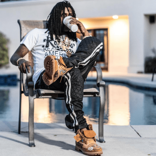 chief keef gives man the shirt off his back denies lean