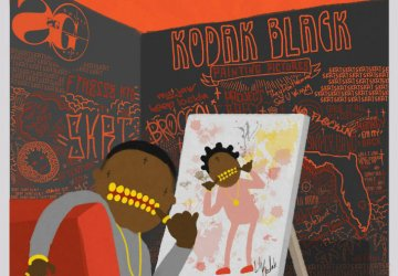 kodak black painting pictures