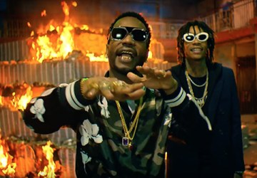 juicy j wiz khalifa cell ready video