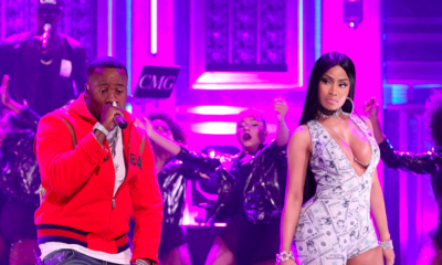 yo gotti and nicki minaj perform rake it up on the tonight show