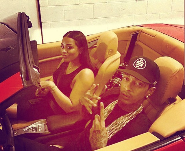 lauren london and nipsey hussle break up