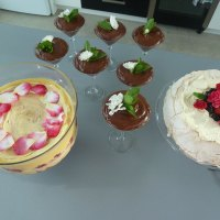A grand total of three summery Christmas desserts