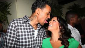 Matt Barnes' Bleu Magazine Cover Event