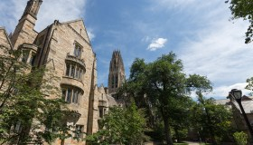 Library Walk, Yale University Campus