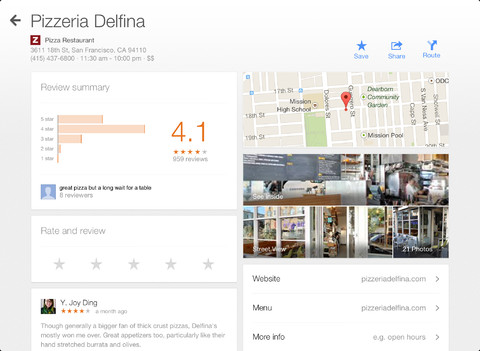 iPad Google maps app (2)