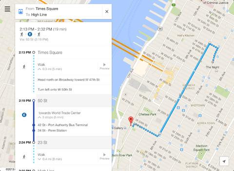 iPad Google maps app (3)