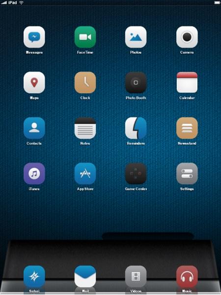 Tema DNA iPad