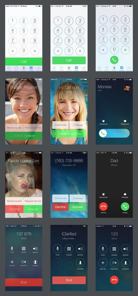 Evolution of iOS 7