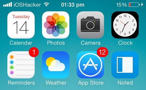 iOS7 bars - Signal Bars
