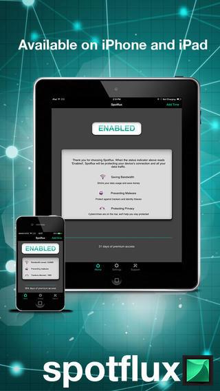 spotflux ios app