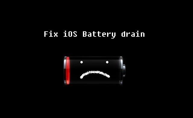 iOS battery drainage fix