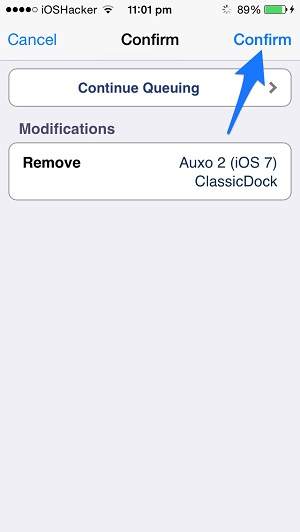 Queue Cydia how to (2)