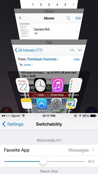 Switchability tweak