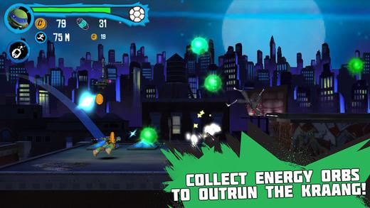 Teenage Mutant Ninja Turtle Rooftop Run iPhone