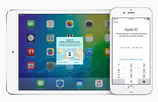 passcode icloud iOS 9