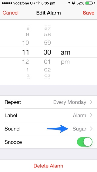 how to change your dial tone to music on iphone