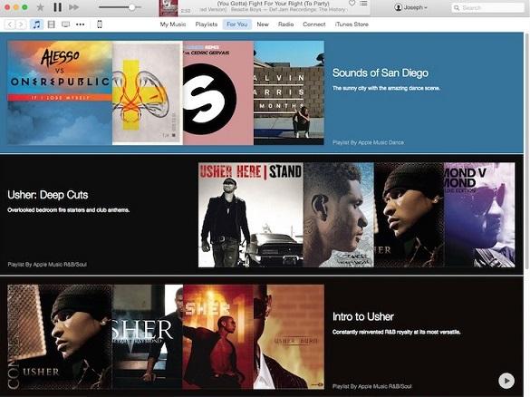 iTunes music 1