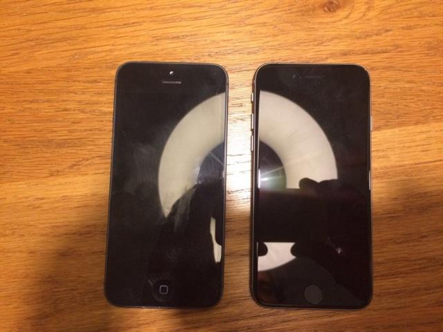iPhone 5se alleged photo
