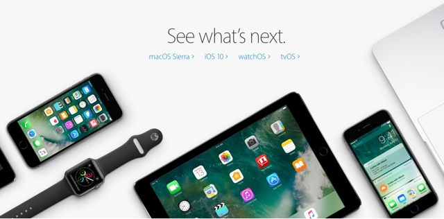 Software betas Apple