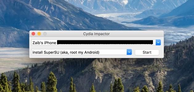 Cydia Impactor Pangu