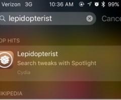 Lepidopterist tweak feat