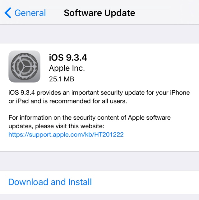 iOS 9.3.4 main