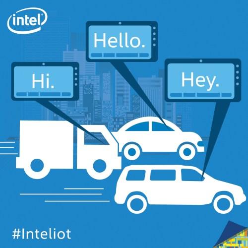 vehicle to vehicle communication IoT