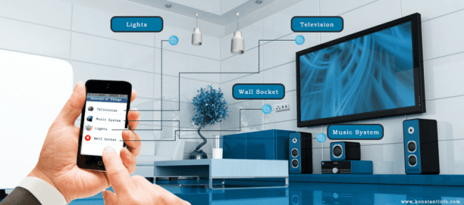control your home and office automation through IoT