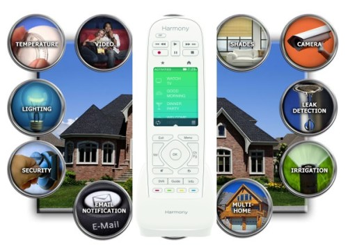 Logitech Harmony Living Home Lineup is internet of things example