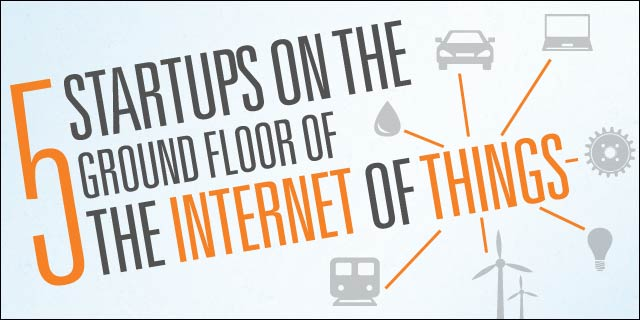 Most Innovative Startups On Internet of Things List