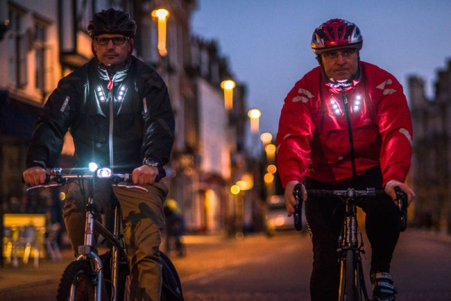 Visijax Commuter Jacket: IoT for Cyclists