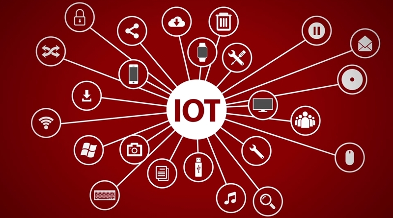 IoT technology infographic