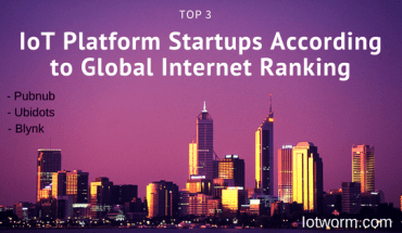 Top best Internet of Things startup platforms