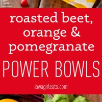 Roasted Beet, Orange, and Pomegranate Power Bowls