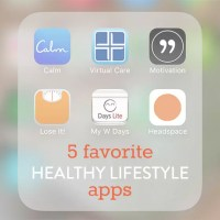 5 Favorite Healthy Lifestyle Apps