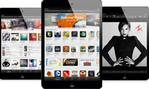 iPad Mini varios negro
