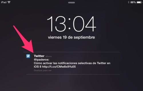 notificaciones interactiva selectiva twitter 1