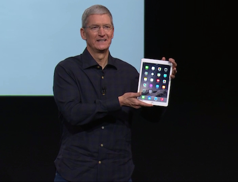 presentacion iPad air 2