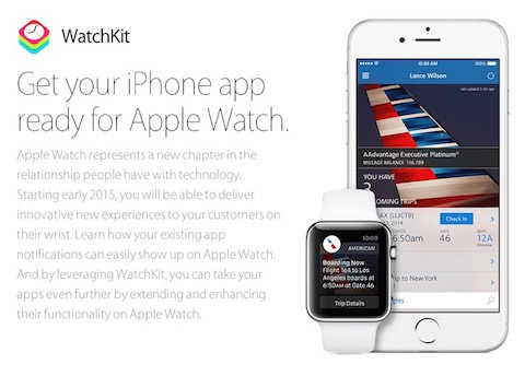 Apple Watch SDK