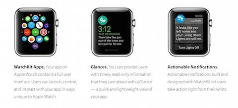 Apple Watch Opciones