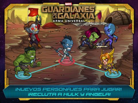 Marvel Guardianes de la Galaxia- Arma Universal
