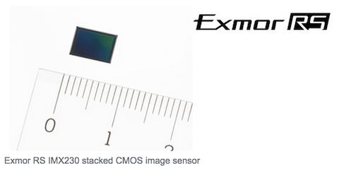 sensor Sony camara