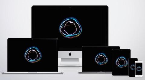 Apple Bubble Wallpaper