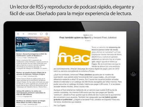 Good News - Fast, Clean and Simple RSS Reader